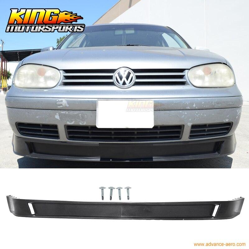 For 1999-2004 Volkswagen Vw Golf Mk4 Mkiv P2 Front Bumper Lip Lower Valance
