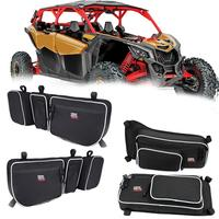 UTV Front and Rear Upper Side Door Bag Storage Bag Knee Pad Water for Can Am Maverick X3 Max XRS XDS Tubor R 2017 2018 2019 2020