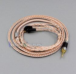 2.5mm 4pole TRRS Balanced 16 Core OCC Silver Mixed Headphone Cable For Etymotic ER4 XR SR ER4SR ER4XR LN005809