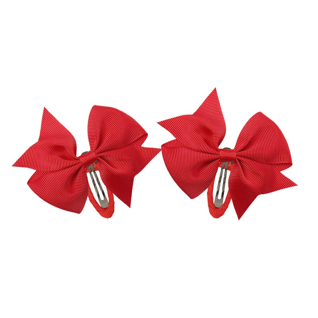 "Spring Blue Floral Chic hair bow handmade hair clips girly glitter bows 3.5"""
