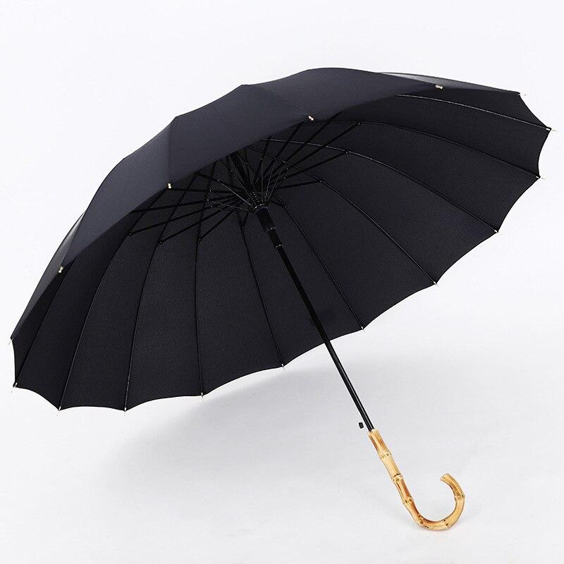 Lidar com Estilo Chuva para Feminino Masculino à Prova de Vento Yada Osso Crânio Japonês Longo Automático Golfe Guarda-chuva Guarda-sóis Ys395 16
