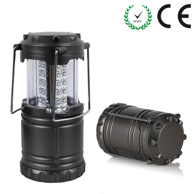 Portable Lantern 30 LEDs Super Bright Camping Light Black/Gray Hand Lamp Outdoor Camping Lantern Waterproof Tent Light nicron super bright led camping light emergency light household lantern camping lantern tent lamp rechargeable battery l10r