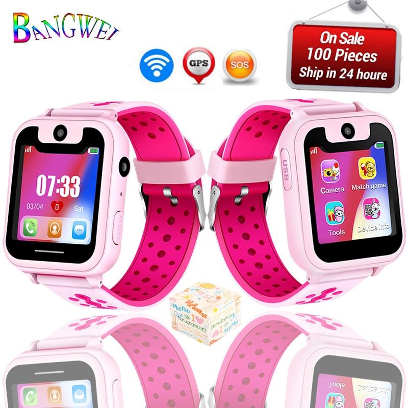 2018New BANGWEI Brand Kids Watches LED Digital Multifunctional Waterproof Wristw