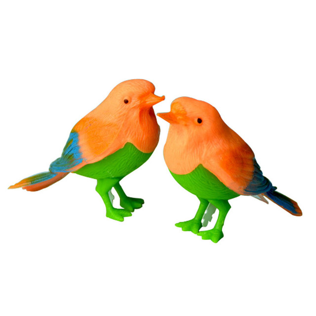 random color toys for children magical voice activate chirping sound