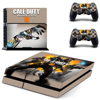 Call of Duty: Black Ops 4 PS4 Skin Console & Controller Decal Stickers for Sony PlayStation 4 Console and Two Controller