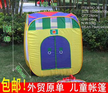 Free shipping 2017 New Arrival Fashion Child Toy Tent indoor play game house outdoor  kids tent Large TOTS  sea ball pool gift