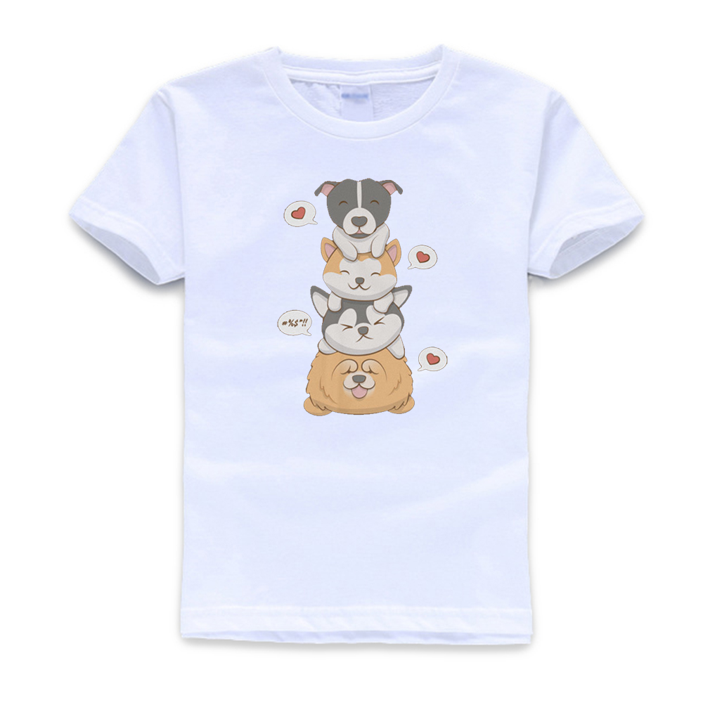 I Love My Pitbull 100/% Cotton Toddler Baby Boys Girls Kids Short Sleeve T Shirt Top Tee Clothes 2-6 T
