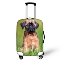 Affenpinscher Dog Lover Thickened Luggage Protective Cover 18 30 Inch Trolley Cases Waterproof Elastic Suitcases Dust Rain Cover