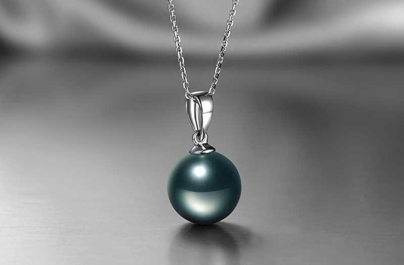 90%-ная скидка! Отправлен Серебряный сертификат! LMNZB оригинальный серебро 925-й пробы натуральный жемчужный кулон свадебное ожерелье для Для женщин ZSN07
