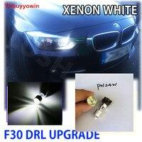 Pour BMW SÉRIE 3 F30 DRL MISE À NIVEAU BLANC CREE Puces AMPOULES PW24W 30 W A MENÉ La Lumière Diurne