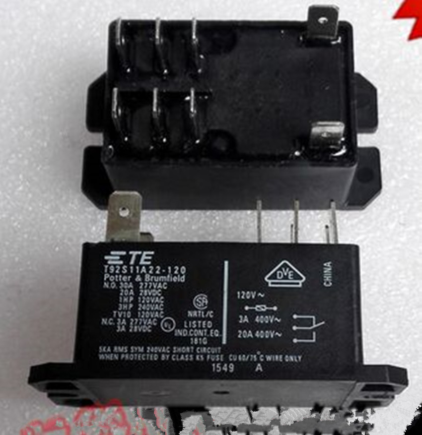 T92s11a22 120 30a 120vdc Te Tyco Relay New And Original In