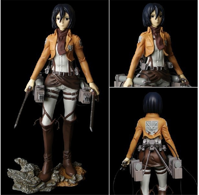 Attack on Titan Anime Figure Shingeki no Kyojin Scouting Legion Levi PVC Action Figure Brinquedos Collection Model Kids Toys trendy japaness anime 4 7 12cm shingeki no kyojin mikasa ackerman pvc figure figurine toys gift attack on titan