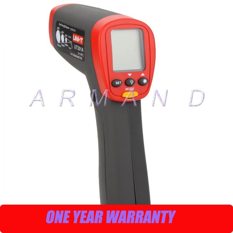 12:1 Digital Infrared IR Thermometer Laser Temperature Gun Meter -18~350 Centigrade/0~662 Fahrenheit Termometro new infrared digital thermometer temperature measurement thermometer gun laser sight 6568 9sjm