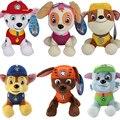 Patrulha Brinquedos De Pelúcia 20-30 cm Cão Dos Desenhos Animados Boneca de Pelúcia, Brinquedo das crianças do Filhote de Cachorro Do Cão de Patrulha Brinquedo Figura Anime juguetes patrulla canina