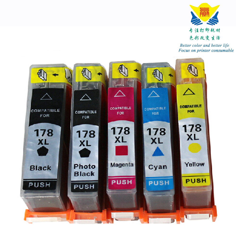 Lot Ink Cartridge For HP 564XL Photosmart 5510 5511 5512 5514 5515 5520 C5373