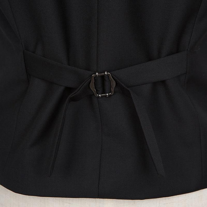 2017 Lelaki Pinggang jaket Suit Lelaki, Pinggang sesuai Pakaian Vest - Pakaian lelaki - Foto 5