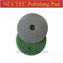 5'' NCCTEC Electroplated DIAMOND Flexible Polishing Pads FREE Shipping (20 Pcs Per Package) | 125mm Soft Sharp Polishing Pads