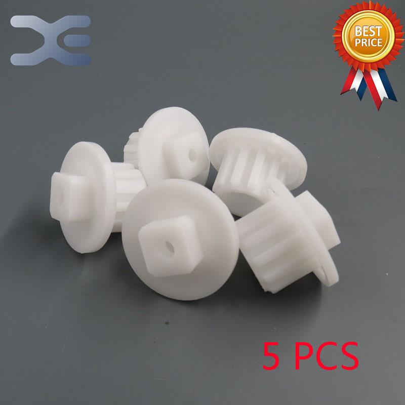 High Quality 5Pcs/Set Plastic Gear Sleeve Connector Piece Cog Meat Grinder Spare Part Zelmer  New Unused