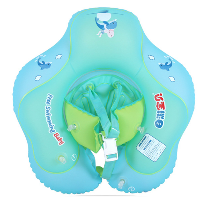 Inflatable Baby Swimming Ring Pool Float Safety Inflatable Circle Swim Kids Water Bed Pool Toys For Children Below 6 Years Old