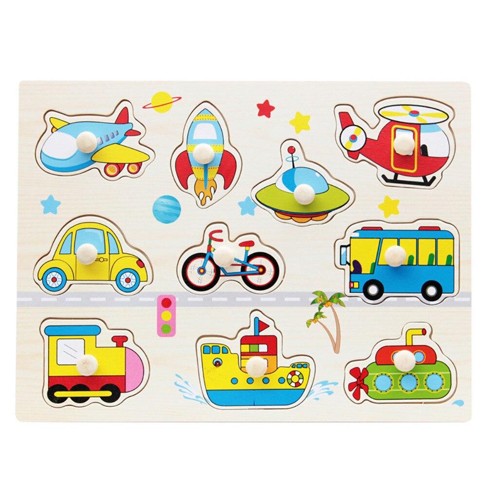 Марка Детские Малыш деревянные магнитные номер алфавитов 3D головоломки игрушка интересная детские, для малышей Обучающие пазлы игрушка в п...