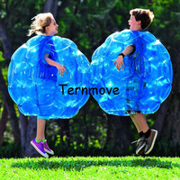 air bumper ball,inflatable body suit,Eco Friendly PVC 36inch Wearable Body Bubble Zorb Soccer Suit for kids,knocker zorb ball