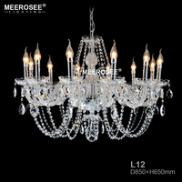 Luxury Crystal Chandelier Lighting Modern LED Glass Chandeliers For Restaurant Kitchen Lustres De Cristal Home Decor
