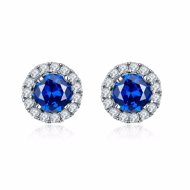 2016 crystal silver fashion ring women lady girl friend gift lover\'s Valentine\'s Day jewelry charms for woman,crystal silver jewelry stud earrings DE19120H (2)
