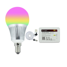 Milight E14 5W RGBCW RGBWW LED bulb with WIFI controller 16 millions colors led home lighting