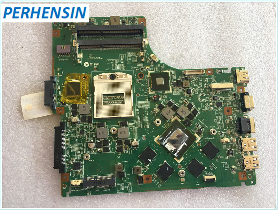 FOR MSI GE40 CR42 Laptop Motherboard MS-1492 GTX 760m 2GB DDR5 MS-14921 VER 1.0 100% Work Perfectly wholesale for msi ms 1w051 board for msi ms 1w051 ver 1 1 n13e gs1 lp a1 100% work perfect