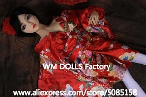 Image 5 - WM DOLLS 100cm Top quality Metal Skeleton Big Breasts Anime Silicone Sex Dolls For Men full Size Lifelike vagina oral love dolls