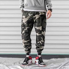 Tactical Pants Male Camo Jogger Casual Men s Cargo Pants Cotton Trousers Multi Pocket Military Style