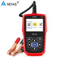 Original NB360 12 24V Car Battery Tester Universal Auto Battery Analyzer Both For Mini Car And