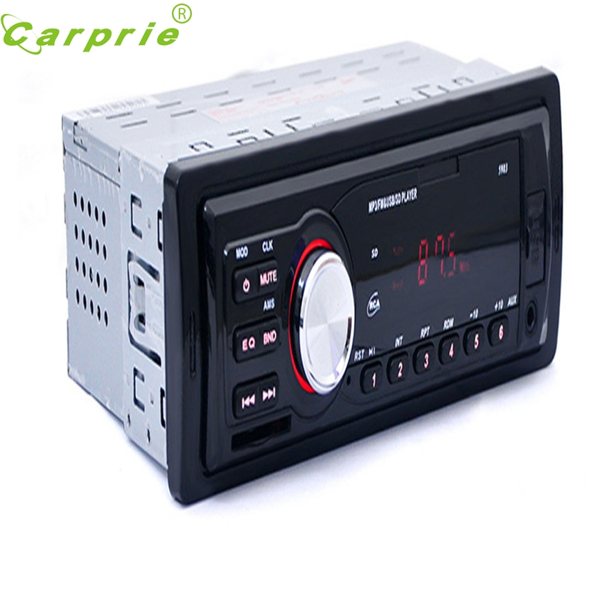 CARPRIE Super drop ship Car Radio Stereo In-Dash MP3 Music Player FM USB SD AUX Input Receiver Mar713