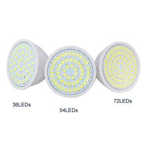 Image 2 - 10X GU10 LED Spot Light 4W 6W 8W Full Power 36Leds 54Leds 72Led Lamp For Kitchen Hotel Art Lighting Lampada Led AC220V 230V 240V