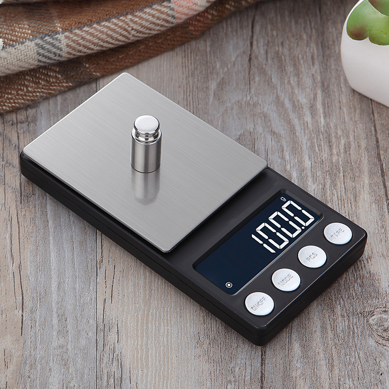 High Precision <font><b>pocket</b></font> Jewelry <font><b>Scales</b></font> Balance <font><b>0.01g</b></font> Portable <font><b>digital</b></font> Lab Weight Gram <font><b>scale</b></font> Medicinal Use image