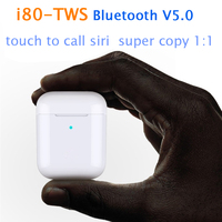 I80 TWS 1:1 Replica Air 2 Pop Up Separate Use Wireless Earphone QI Wireless Charging Earphones PK W1chip I60 I30 Tws I100 I 10