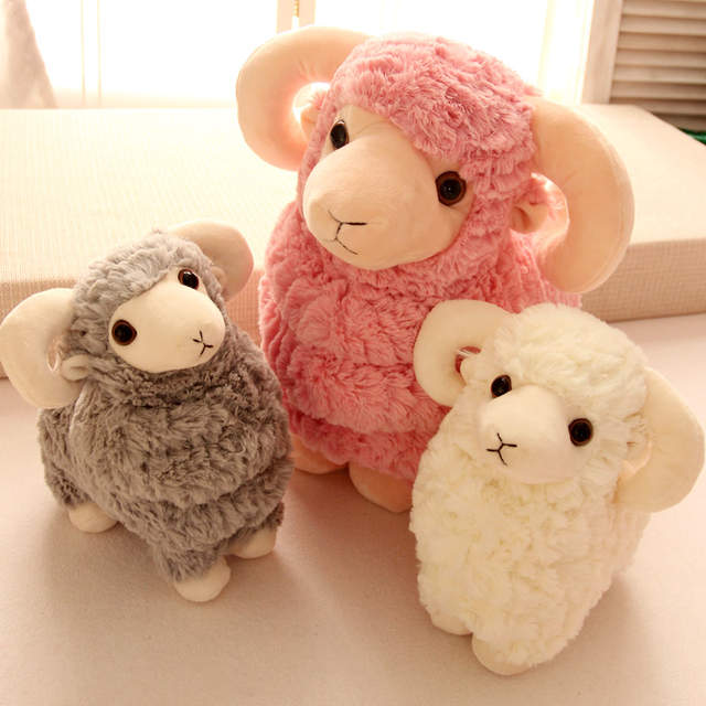 Online Shop 25 50cm 4 Colors Hot Sale New Goat Lamb White Pink Sheep
