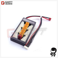 Freeshipping XT60 Connector 2 6s Parallel Charge Charging Board JST XH Blance Charger Adapter