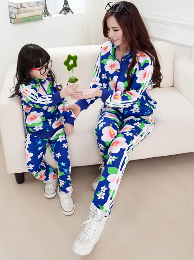 737bdd06be 2015 Matching Mother Daughter Clothes Family Look Girl and Mother Mommy and  Me clothes Parent-child Outfit Ma e Filha Set