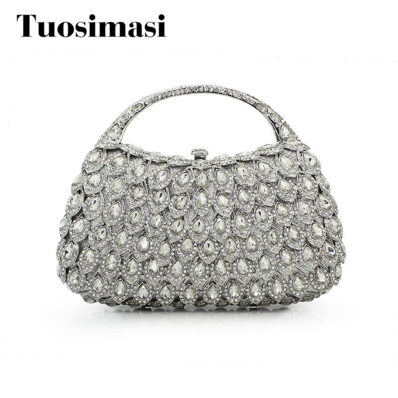 Stones rhinestone Handbags and Purse Designer basket Women Crystal Clutches Metal Bridal Wedding Clutch Purse(8760A-S) stones пиджак