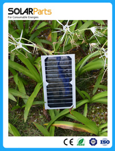 Solarparts 5pcs 6V 6W 1000mA high efficiency mono cell transparency pet solar panel solar module Sunpower