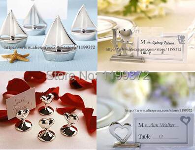 100pcs Lot Love Place Card Photo Name Holder Wedding Valentine S Day Dinner Party Favor Heart