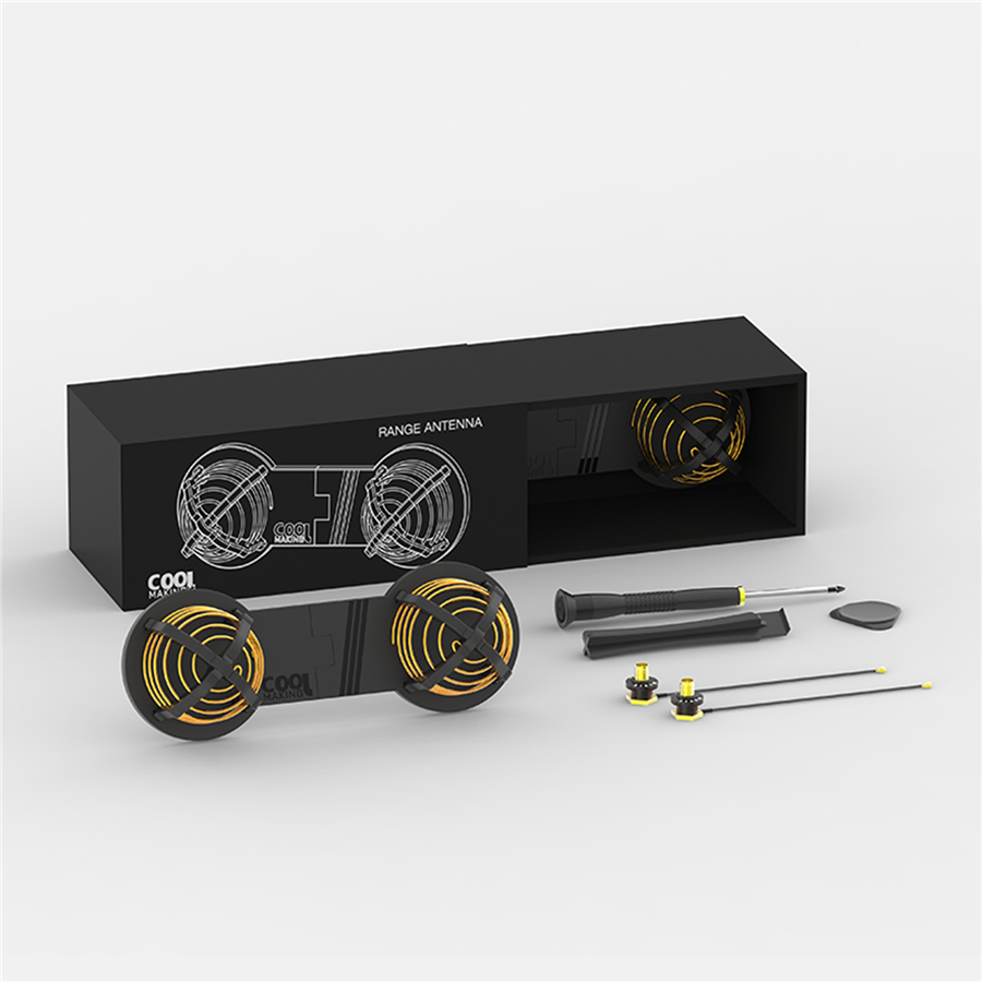 16DBI 2.4/5.8GHz Circular Polarized Antenna WiFi Signal Range Booster Extender For DJI Mavic Pro Spark Phantom 4/3 Inspire 2/1