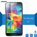 De seguridad de vidrio templado para samsung galaxy s5 protector de la pantalla 2.5 9 h película protectora de pantalla en i9600 g900 g906