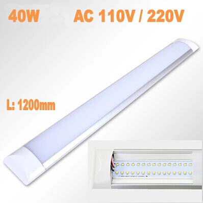High Quality Newest LED Ceiling Lamp tube 1200mm 40W AC110V 220V Smd2835 Anti dust Super Slim