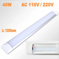 High Quality Newest LED Ceiling Lamp tube 1200mm 40W AC110V 220V Smd2835 Anti dust Super Slim Indoor Decoration LED light bar