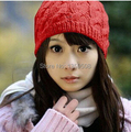 Free Shipping 2014 New 10pcs/lot Hot Winter Warm Ski Knitted Pineapple Fruit Beanie Hats For Women Braided Crochet Caps