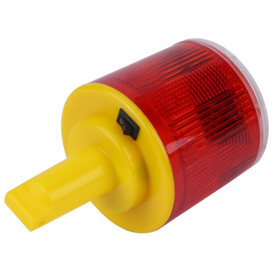 Red LED Emergency Light Warning Flash Light Indicator LED Rotary Signal Lamp Alarm Lamp Traffic Road Boat Red Light