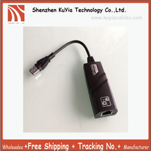 Free Shipping USB 3.0 Gigabit Ethernet Adapter USB to RJ45 Lan Network Card for Windows 8/7/XP/Visat/Mac OS 10.6 or later