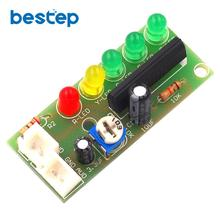 Audio Level Led Indicator Circuit Electronic DIY Production PCB Board Kit Parts